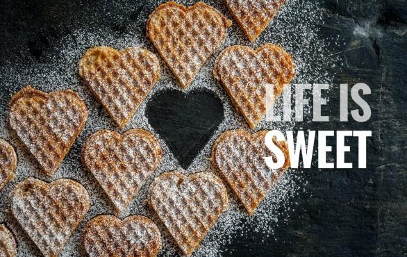 Life is sweet Foto's